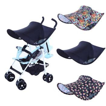 2019 Baby Stroller Sunshade Blocking 99% UV Breathable Universal Stroller Cover protection hoods canopy Sunshade Blocking