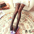 High quality new lace rose flower tights Wings pattern thin section of women tights