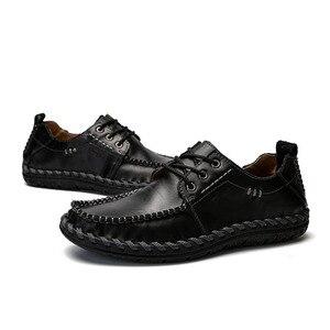 Image 4 - Mynde chaussures mocassins en cuir véritable de qualité pour homme, confortables, 2018, mode, chaussures décontractées, chaussures plates pour homme