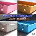 Оригинальные Энн Pro компактная клавиатура база сиденье 60% механической клавиатуры оболочки пластиковый корпус рамка gaming keyboard синий Розовый