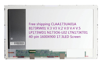 CLAA173UA01A B173RW01 V.3 V3 V.2 V.0 V.4 V.5 LP173WD1 N173O6 L02 LTN173KT01 40 pin 1600X900 17.3LED Screen