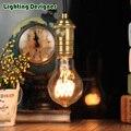 Vindima levou A19 edison filamento lâmpada claro verde base de e27 levou dimmable luz 220 v lâmpada de poupança de energia substituir lâmpadas incandescentes lâmpada