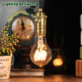 Vintage led edison filament bulb clear A19 green base e27 led dimmable light 220v energy saving lamp replace incandescent bulb