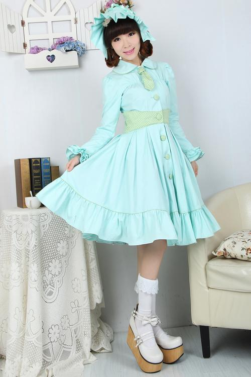 JSK Lolita Cute Lolita Costume Pretty Princess Lovely Printing Lolita Multicolored