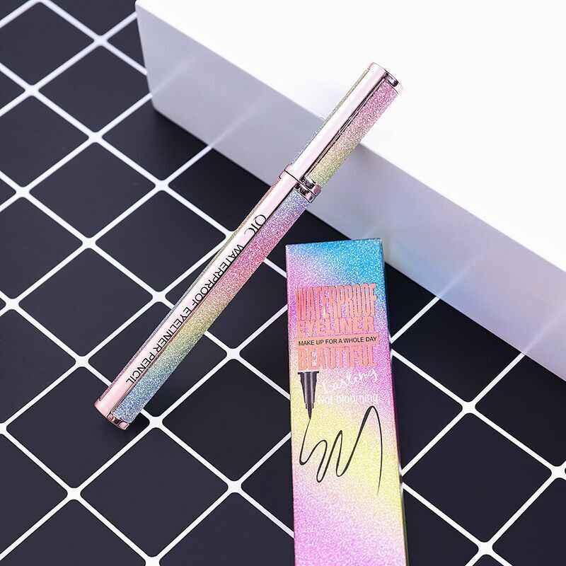 Черная Подводка для глаз водостойкая стойкая косметика для женщин Comestic подводка для глаз карандаш для макияжа глаз маркер ручка