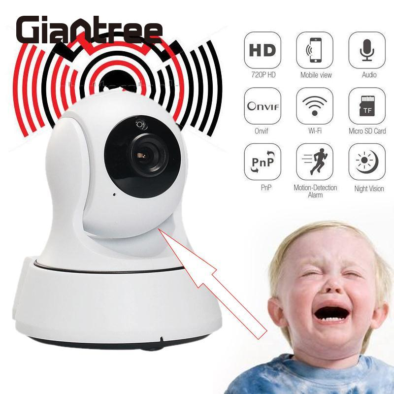 giantree HD 720P Wireless IP Camera Security Camera Camera HD Night Vision Monitor Surveillance Home Security Baby Monitor giantree recorder hd ip camera 360 degrees baby monitor wireless network camera night vision audio video home surveillance