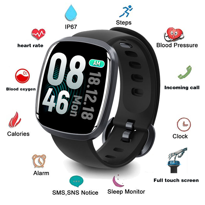 Wearpai GT103 1.3 Inch Full Touch Screen Smart Watch Men  Blood Pressure Exercise Dynamic Heart Rate Sleep Monitoring For Ip67