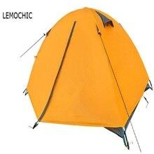 Высокое качество Двойных слоев открытый палатки водонепроницаемый пляж barraca охота рыбалка Одноместный беседка ultralight палатка(China (Mainland))