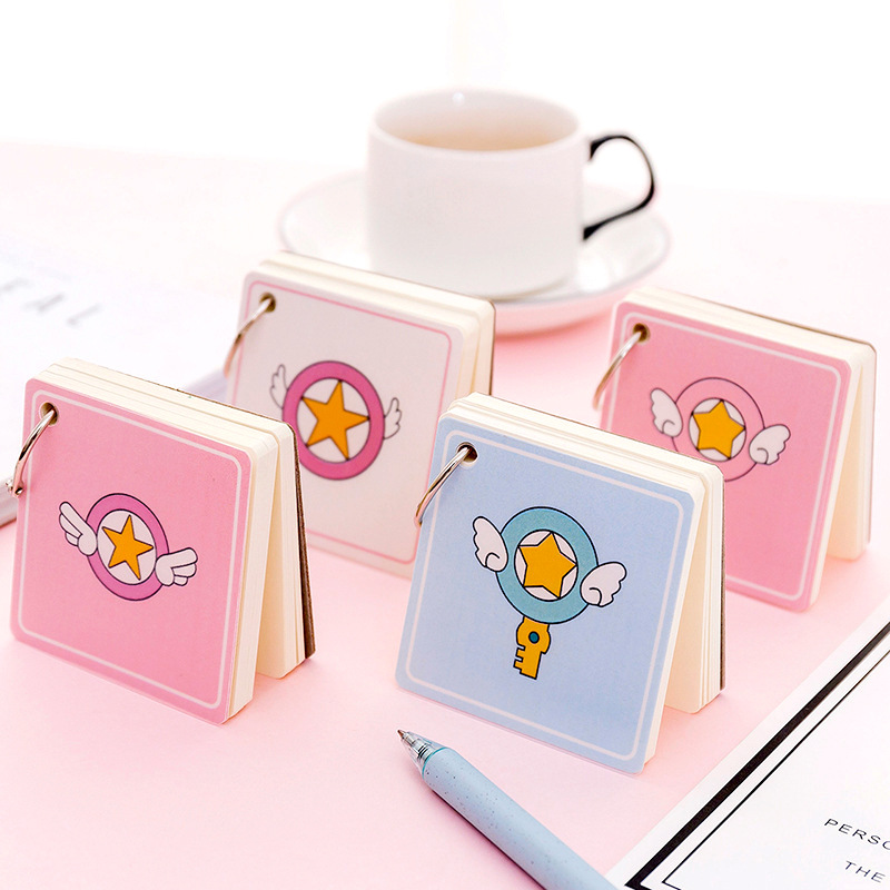 16 Styles Spiral Book Iron Ring Coil Notebook Kawaii Lined Blank Grid Paper Diary Planner For School Supplies Stationery Gift