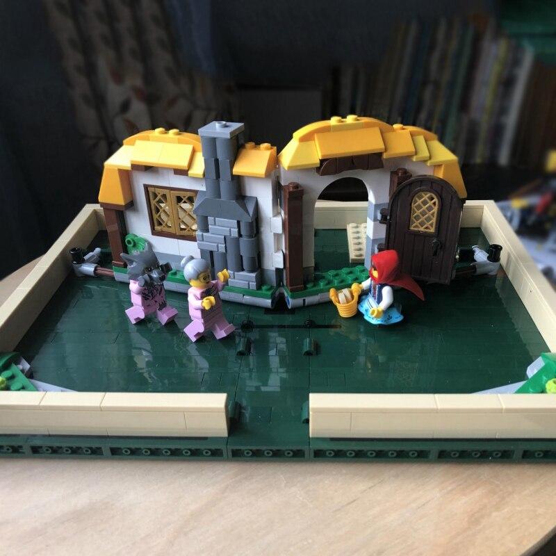 859PCS the 21315 Pop-up Book 3D Building Blocks Bricks Model Set Compatible  Legoinglys Ideas Creator Toys Kids Christmas Gifts