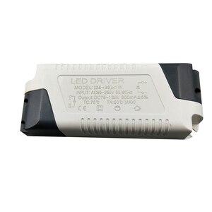 Image 5 - Sterownik LED 3 W 36 W 85 265V 300mA transformator światła prąd stały adapter do zasilacza do lamp Led oświetlenie fluorescencyjne