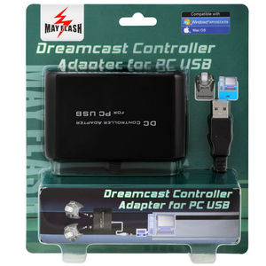 Image 5 - Mayflash For Sega DC For Dreamcast Dual Port Controller USB Adapter for Windows PC Mac No Extra Power Supply No Driver Needed
