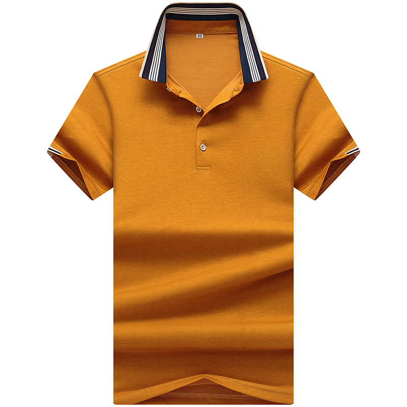 2019 summer top quality short sleeve   POLO   shirt solid color business brand   polo   Shirts Casual poloshirts