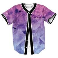 Lean Team Jersey Summer Style With Buttons 3d Print Hip Hop Streetwear Men S Shirts Sport