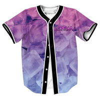 Lean Team Jersey Summer Style With Buttons 3d Print Hip Hop Streetwear Men S Shirts Sport