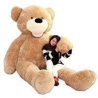 Fancytrader крупнейших в мире Pluch медведя игрушки! Настоящее JUMBO 134 ''340 см Огромный! Гигантские плюшевые медведь 2 размера FT90451