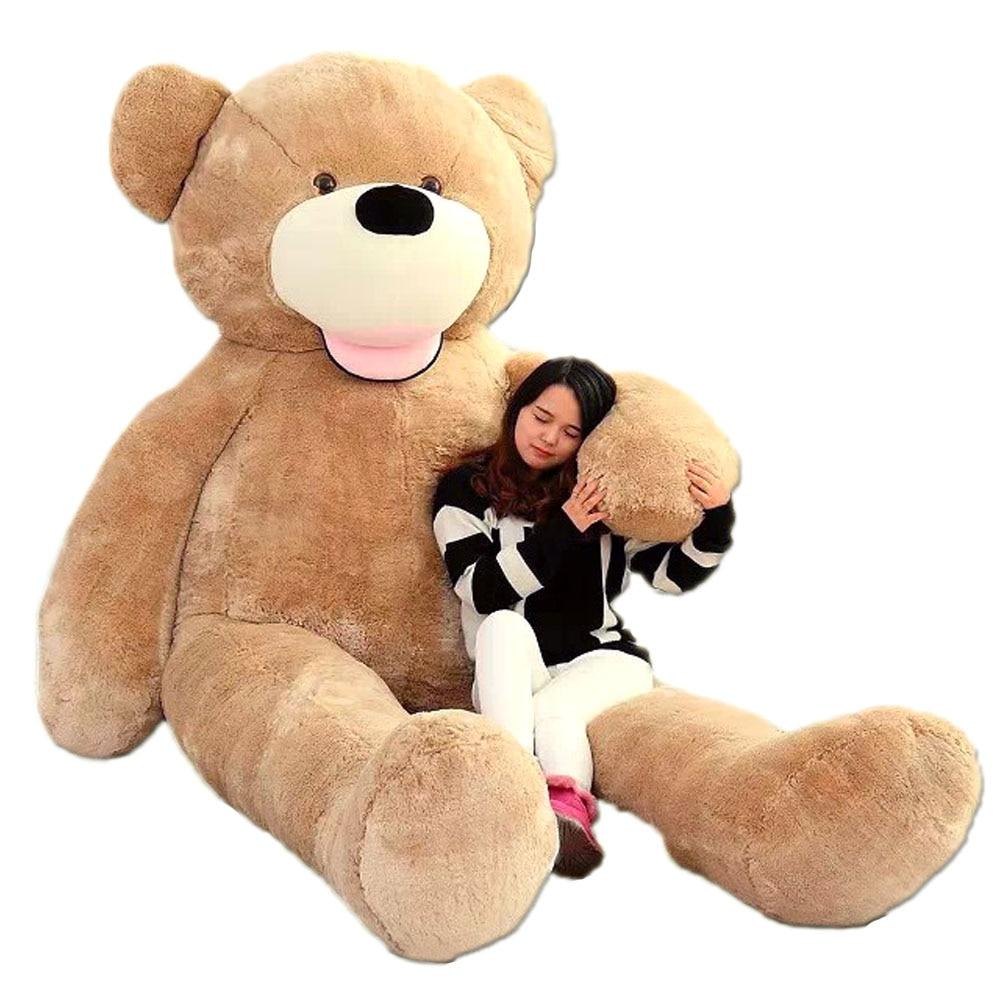 Fancytrader plus gros dans le monde Pluch ours jouets!! Véritable JUMBO 134 ''340 cm énorme!! Peluche géante en peluche 2 tailles FT90451