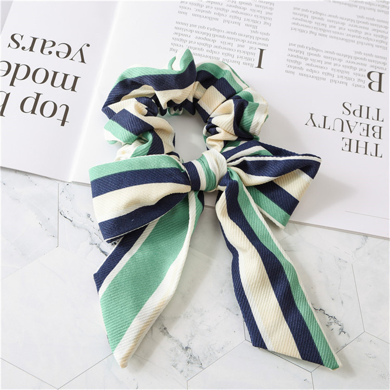 2019 new bow small fresh female hair ring Korean version of elastic elastic tie head release art children and ladies in Hair Accessories from Mother Kids