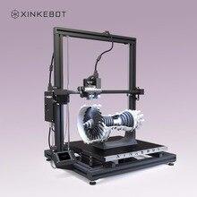 Большой 3D-принтеры 15.7×15.7×19.7in принт Размеры xinkebot Orca2 cygnus двойной экструдер 3D-принтеры 90% собранном виде