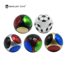 Hand Spinner Ball Round Gyro Finger Spinner Anti Stress Reducing Toys Kids Colorful Stress Relief Toy  Fidget Football Spinner
