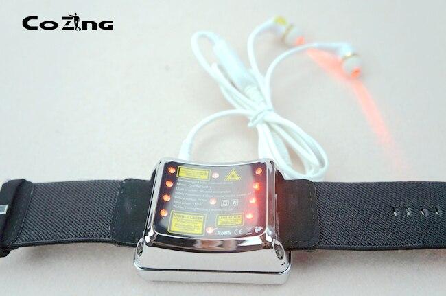 Blood circulation therapy laser light wrist type laser blood water