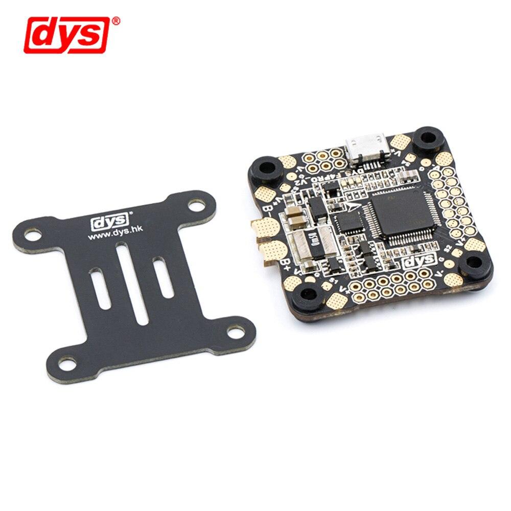 Contrôle de vol DYS F4 PRO V2 Betaflight avec 5 V/3A 9 V/1,2a BEC intégré circuit de protection intégré connexion de câble plat OSD - 4
