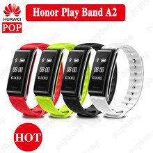 HUAWEI HONOR Color Band A2 Smart Wristband Sleep Heart Rate Monitor Bracelet Fitness Tracker IP67 Bluetooth OLED For Android iOS(China)