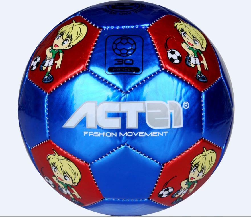 Children Size 2# PU School Soccer Football Outdoor Sport Training New Design Match Balls ...
