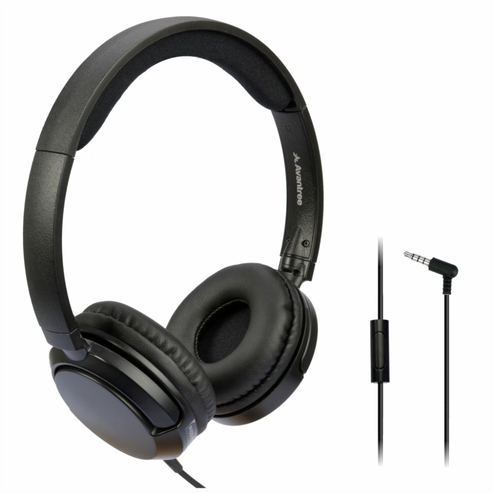 Avantree Superb Sound Lightweight Wired Headphones with