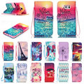 Fashion Tower Dandelion PU Leather Case For Samsung Galaxy S3 S4 S5 mini S6 S7 Edge Plus Note 4 5 Flip Wallet Case Cover