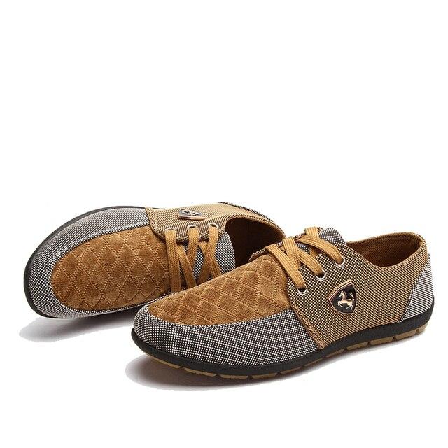 2016 mens Casual Shoes mens canvas shoes for men shoes men fashion Flats brand fashion Zapatos de hombre 9