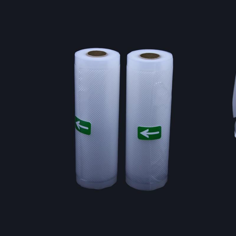 2 Rolls/lot 28*500CM Vacuum Seal Bags for Food Saver Storage Vacuum Sealer