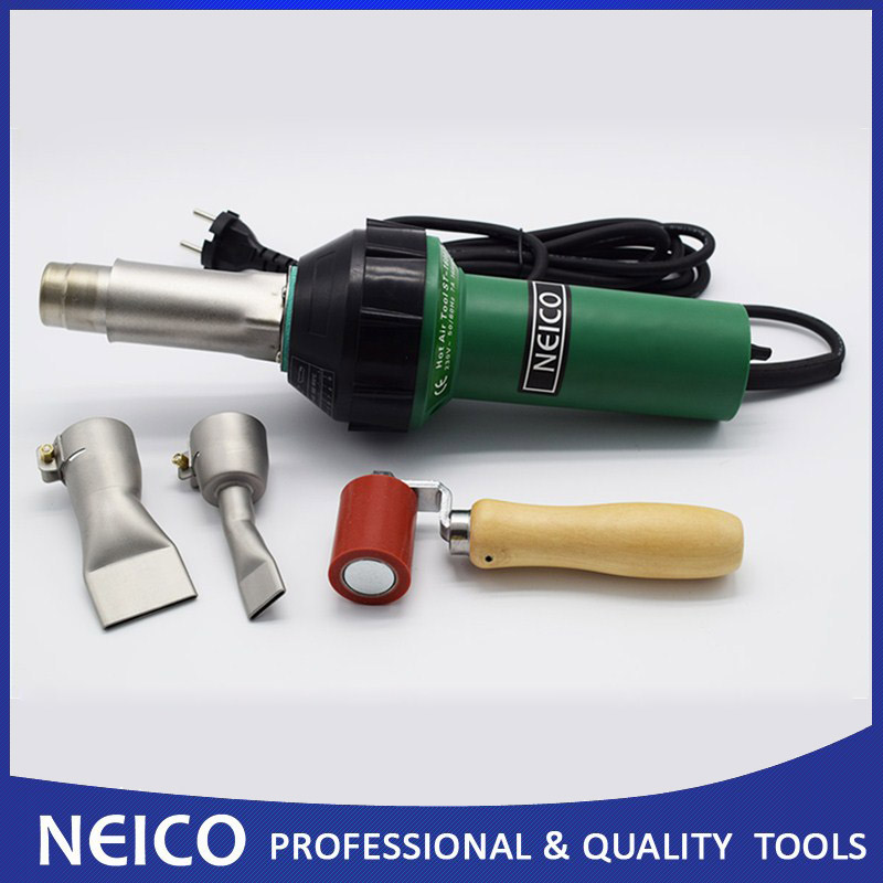 Free Shipping 120V Or 230V 1600W NEICO Hot Air Welder For Vinyl Decking Installation And PVC