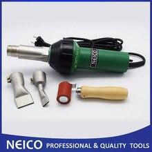 120 в или 230 В 1600 Вт NEICO горячий воздух сварщик для виниловый настил установка и пвх баннеры брезент сварка