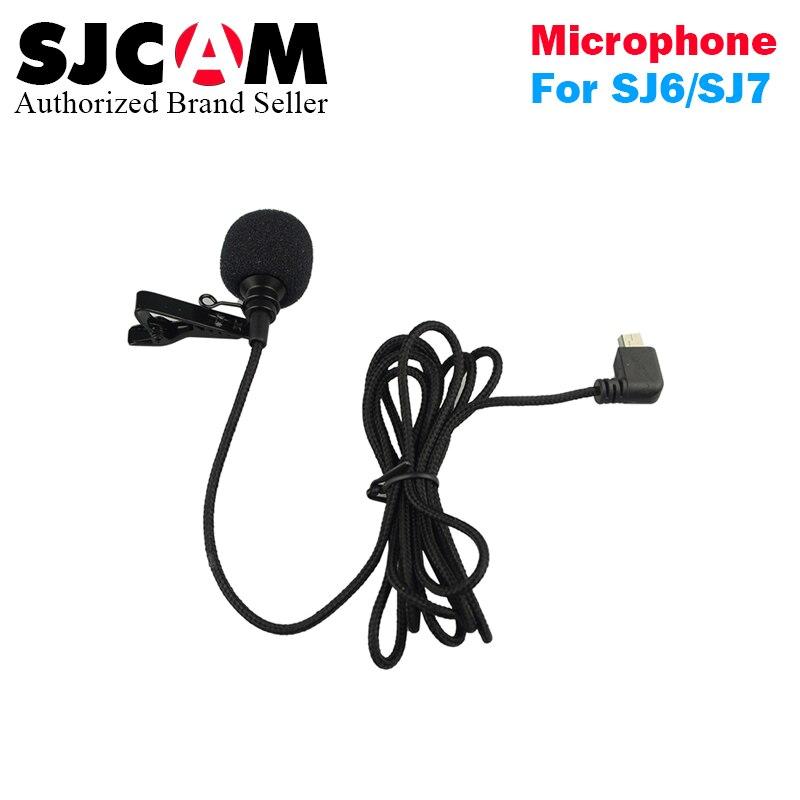 Original SJCAM SJ7 star MIC Accessories External MIC for SJCAM SJ6 Legend/SJ7 Star/SJ360 Sports Camera free shipping