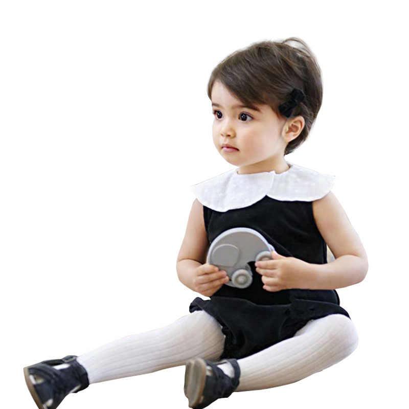 Summer Twins Baby Pure Cotton Bodysuit Fashion Toddler Girl Lotus Leaf Collar Jumpsuit Children Sleeveless Onesie Clothes 9-24M