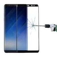 Haweel For Samsung Galaxy Note 8 Screen Protector 0.3mm 3D Curved Full Screen Tempered Glass Screen Film For Galaxy Note 8 Guard