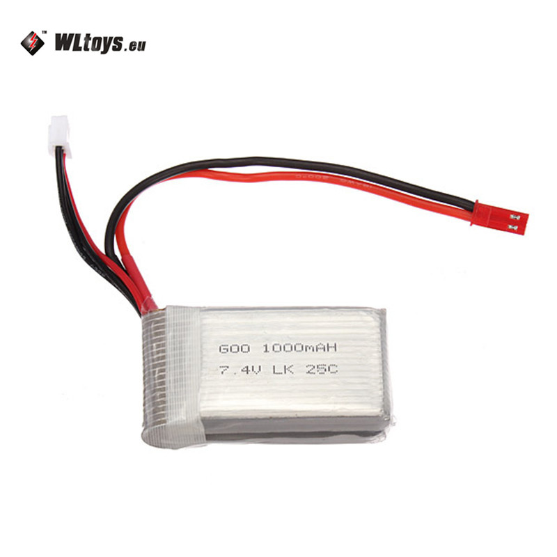 2018 Nouvelle Arrivée WLtoys V912 V915 Amélioré Li-Batterie li-po 7.4 V 2 S 1000 mAh 25C