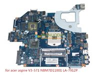NOKOTION Q5WV1 LA 7912P REV 2,0 NBM7D11001 для acer aspire V3 571 материнской NB. M7D11.001 gt730m HD4000 + GeForce