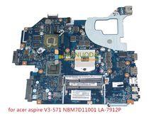 Q5WV1 LA-7912P REV 2.0 NBM7D11001 For acer aspire V3-571 Motherboard NB.M7D11.001 gt730m HD4000+GeForce