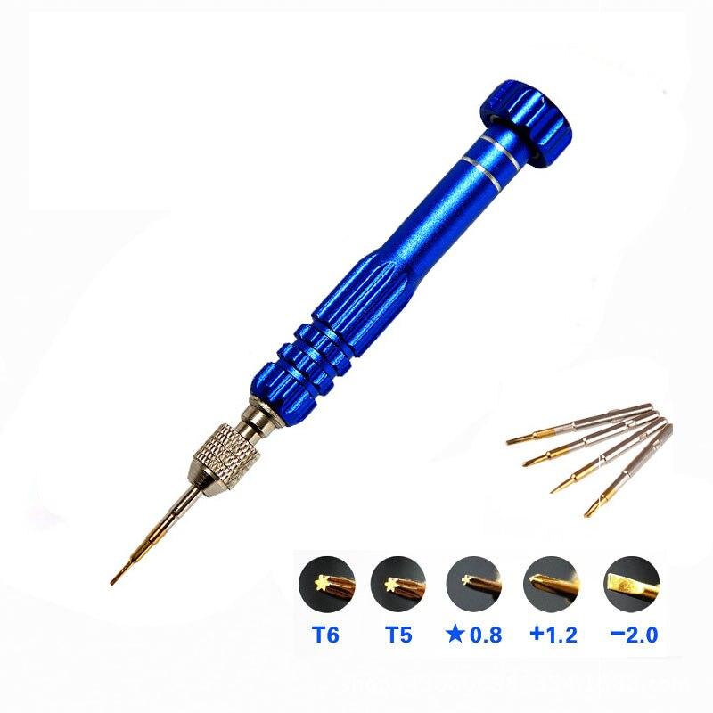 1 Stück 5 In 1 Multi Handwerkzeuge Bohrer Schraubendreher Set Präzision Handy Reparatur Tool Kit Herramienta Ferramentas Manuais