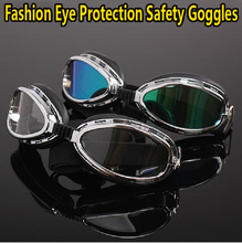 Free shipping New Light weight Eye protection Windproof anti-UV Protective Safety Glasses safety goggles