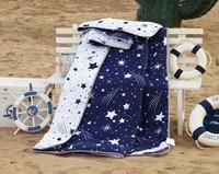 Star pattern Blanket Quilt Thin Duvet Summer Autumn Comforter Bedding sets Full/ Twin/Queen Size