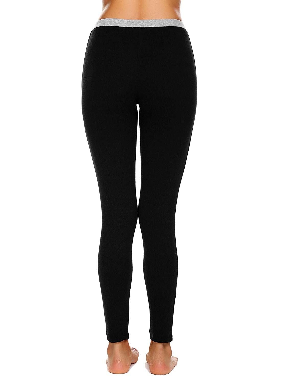 المرأة ملابس اخلية حرارية مجموعات طويلة جونز قاعدة طبقة أعلى وأسفل 2 قطعة مجموعة-في السراويل والشورتات الطويلة من ملابس نسائية على  مجموعة 1