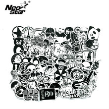 Get more info on the 60Pcs/Lot Black and White Mix Stickers For Laptop Waterproof Cool Sticker Graffiti Bomb Decals Stickers Skateboard Luggage