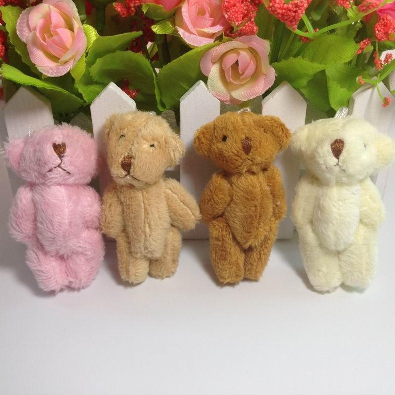 6cm long wool teddy bear (1)