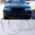 Горячий стиль SMD angel eyes супер яркий белый halo led light kit для BMW E53 X5 1999 2000 2001 2002 2003 2004 2005 2006