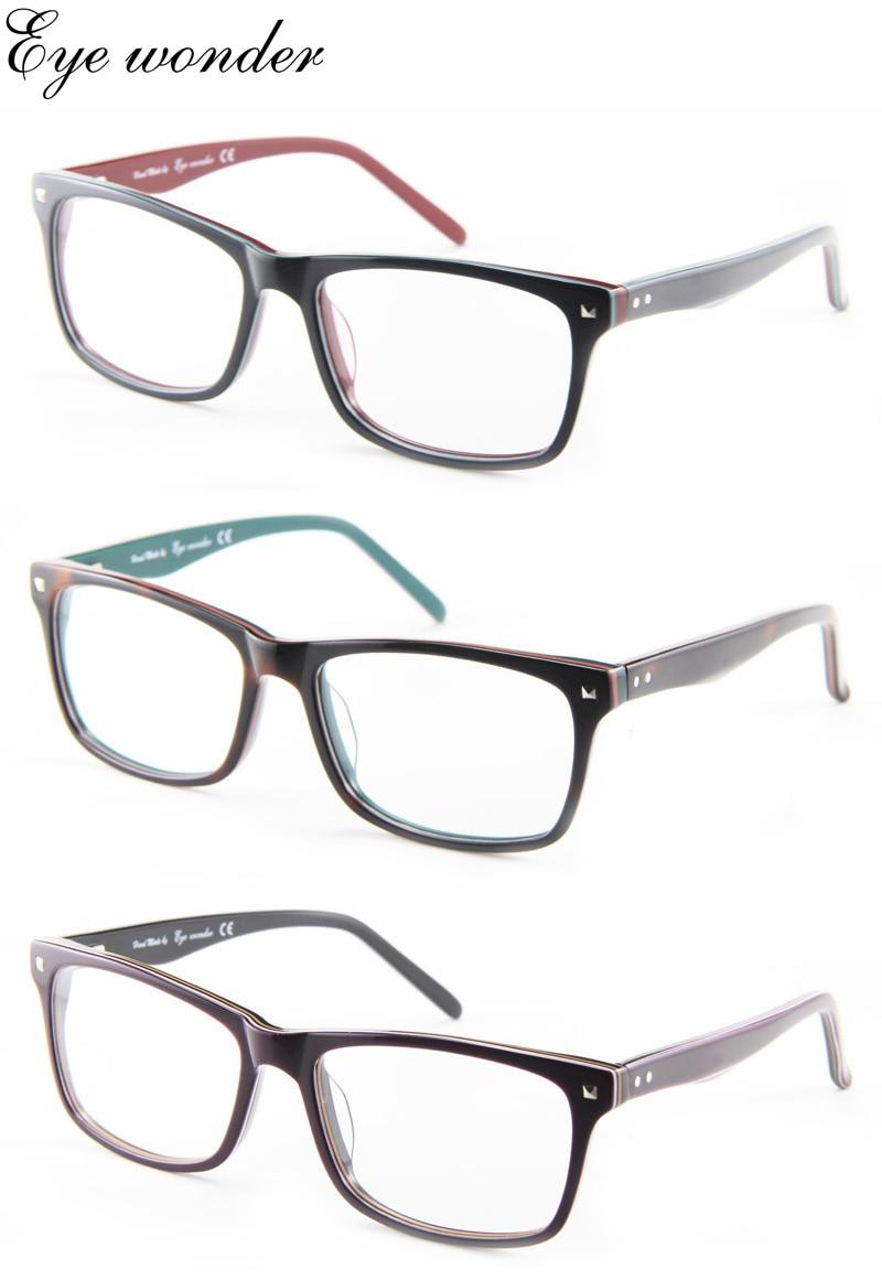 Augen wunder frauen Acetat Glasrahmen Männer Optischen Rahmen für ...