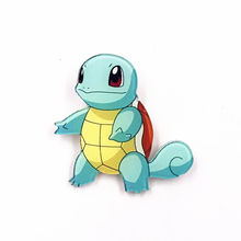 1Pcs Cartoon Pokemon Squirtle New Brooches for Children Lapel Pin Sweater Bags Shoes Decoration Badges Kids Gift(China)