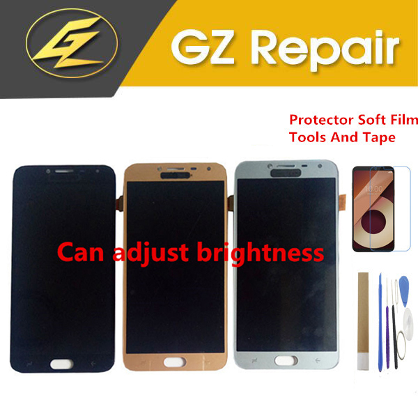 5.5 For Samsung Galaxy J4 2018 J400 J400F/DS J400G/DS LCD Display With Touch Sensor Digitizer Can Brightness Control With Kits5.5 For Samsung Galaxy J4 2018 J400 J400F/DS J400G/DS LCD Display With Touch Sensor Digitizer Can Brightness Control With Kits